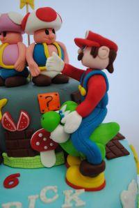Tort Pian si tort Floare 011